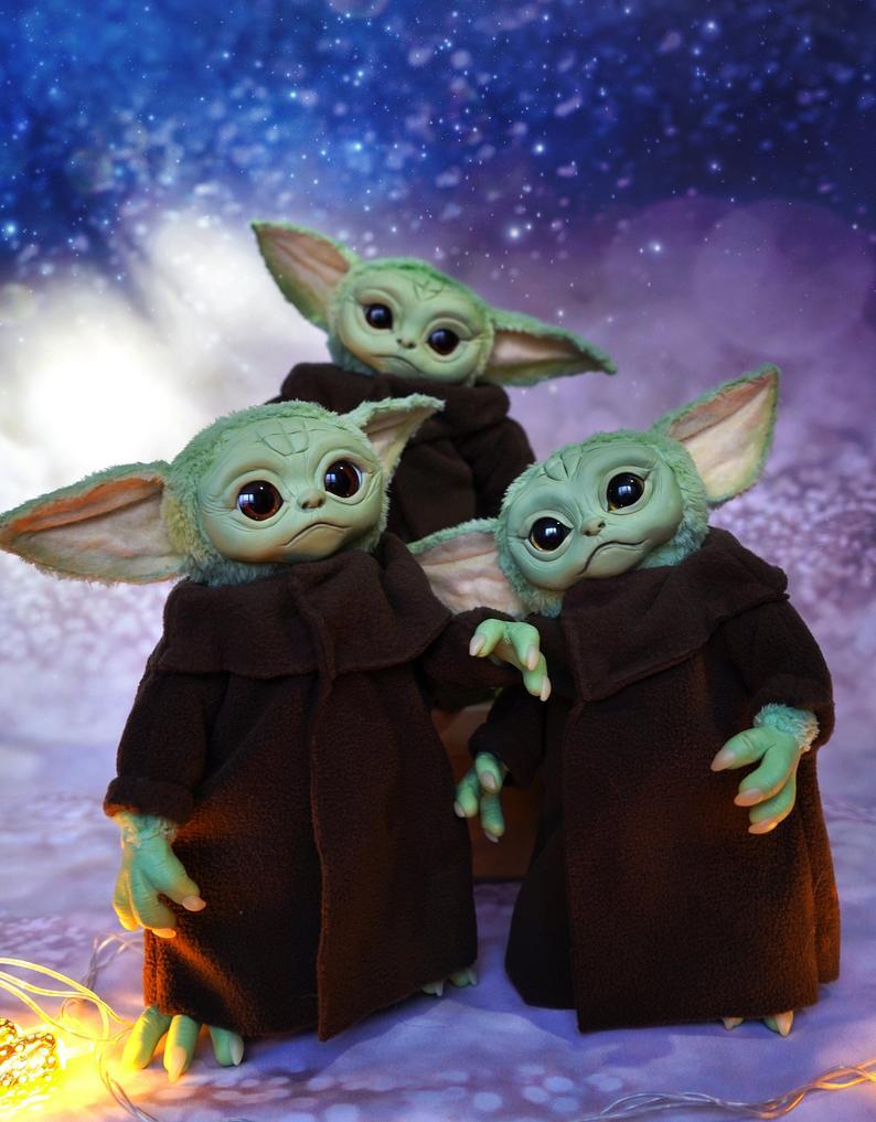 Realistic Baby Yoda Doll Shut Up And Take My Money