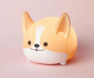 Corgi Ambient Light – Corgi's light up our lives, that's a fact. And with this almost as cute as a real corgi light, they can literally light up yours up