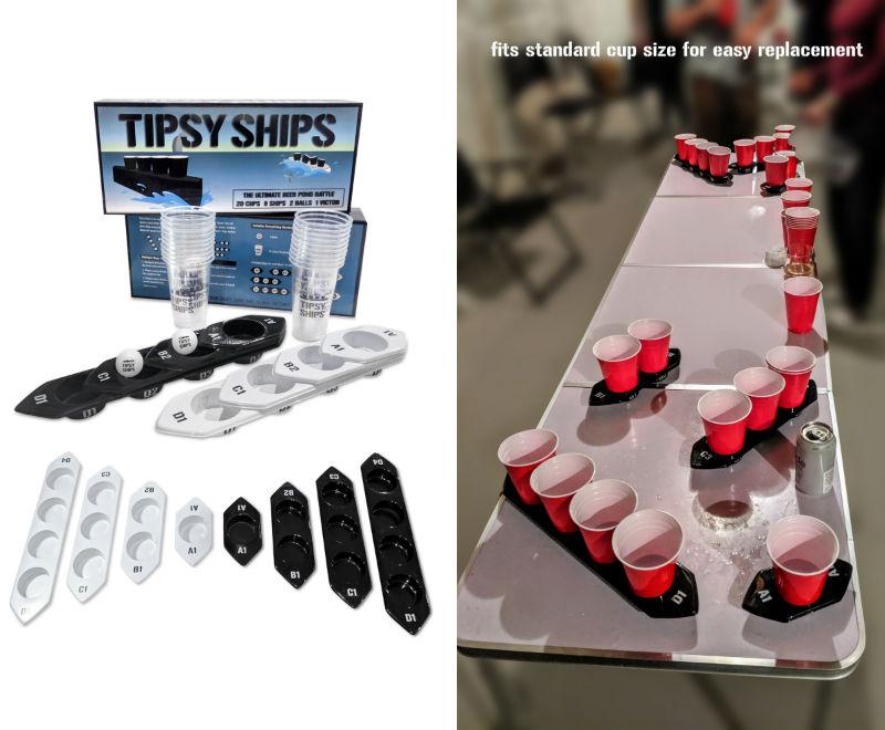 tipsy ships