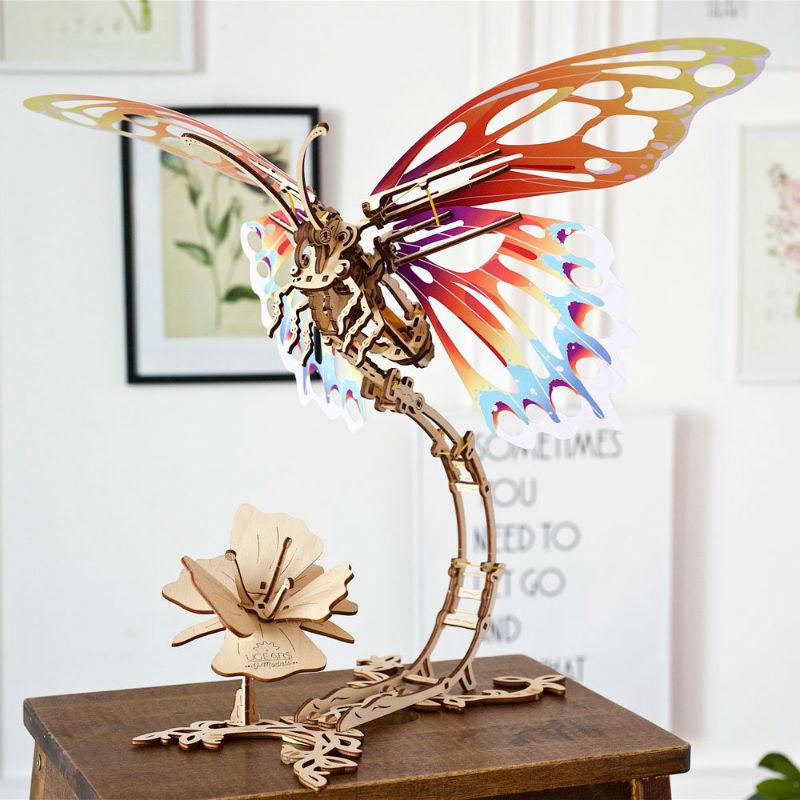 ugears wooden butterfly
