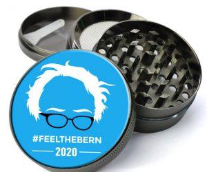 Bernie Sanders 2020 Feel the Bern Herb Grinder