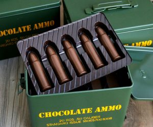 Chocolate ammo is the perfect Valentine's Day gift for the gun loving man in your life
