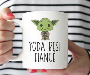 Yoda Best Fiance Mug –