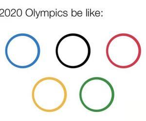2020 Olympics Coronavirus Logo – Meme