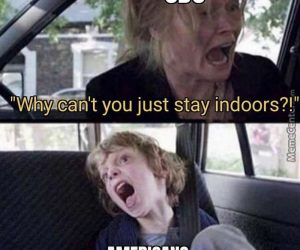 CDC Why Can't You Just Stay Indoors Americans Meme