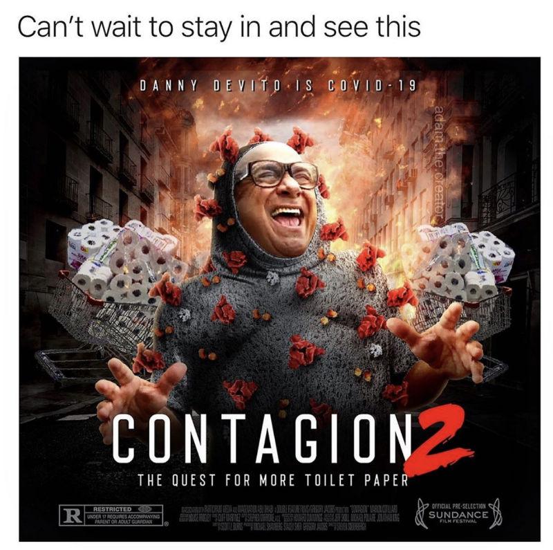 danny devito contagion 2 meme