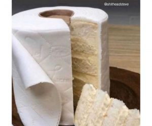 Everyone With A Spring Wedding Be Like – Toilet Paper Cake Meme