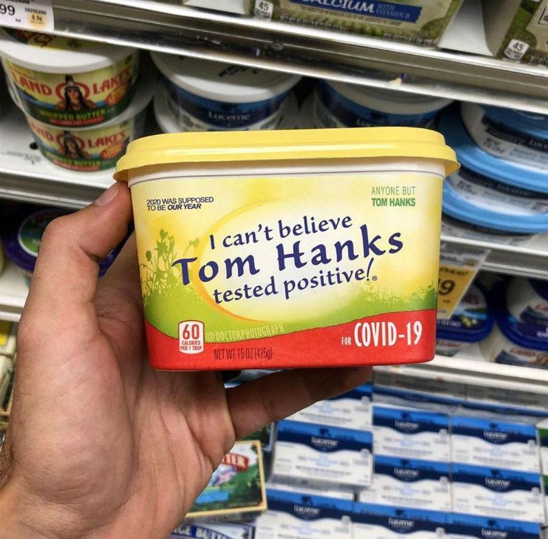 I Can't Believe Tom Hanks Tested Positive For Corona Virus