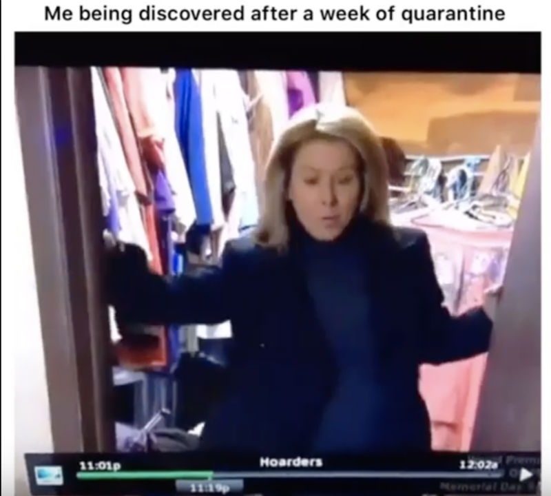 me being discovered after quarantine