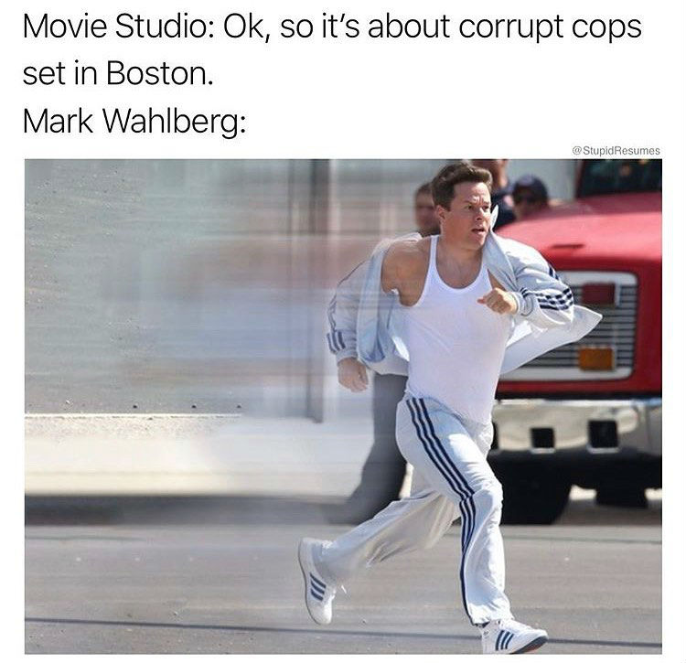 movie studio its about corrupt cops in boston mark wahlberg