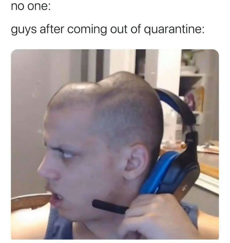 no one guys coming out of quarantine