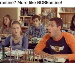 Quarantine More Like BOREantine Meme