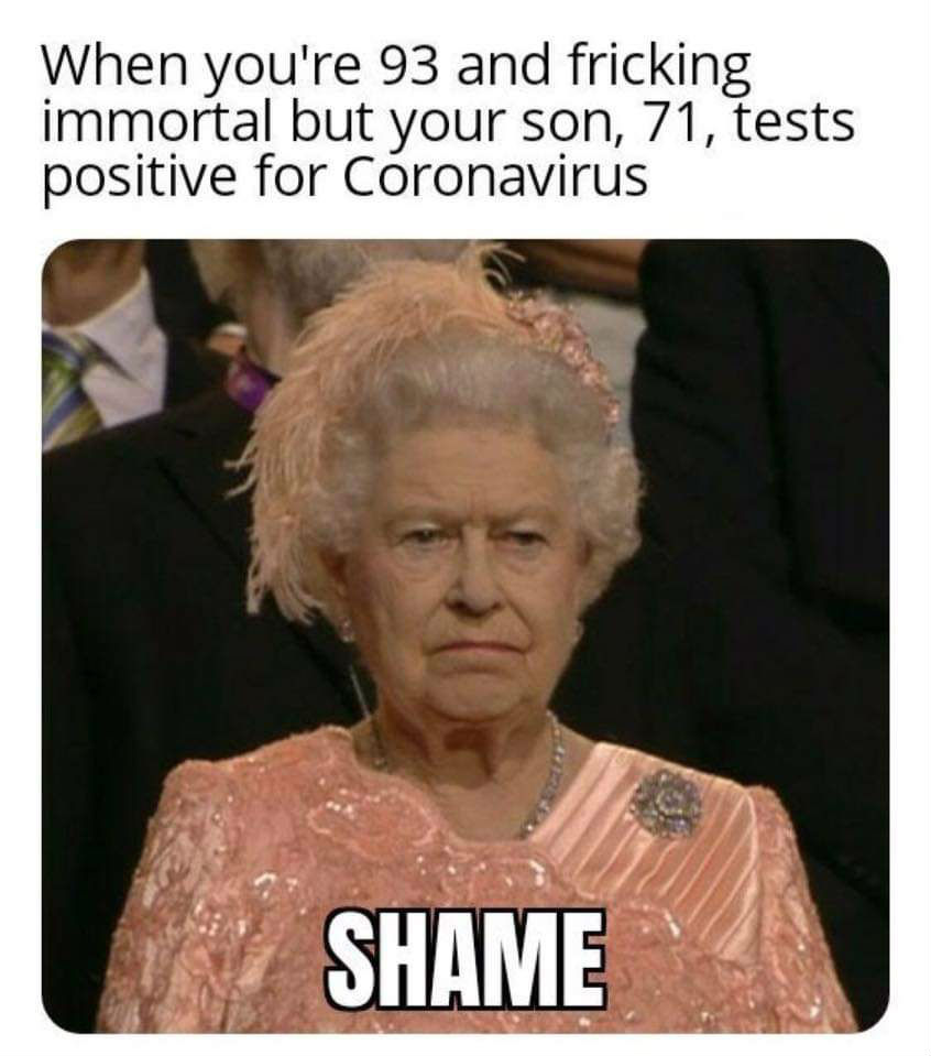 queen elizabeth coronavirus meme