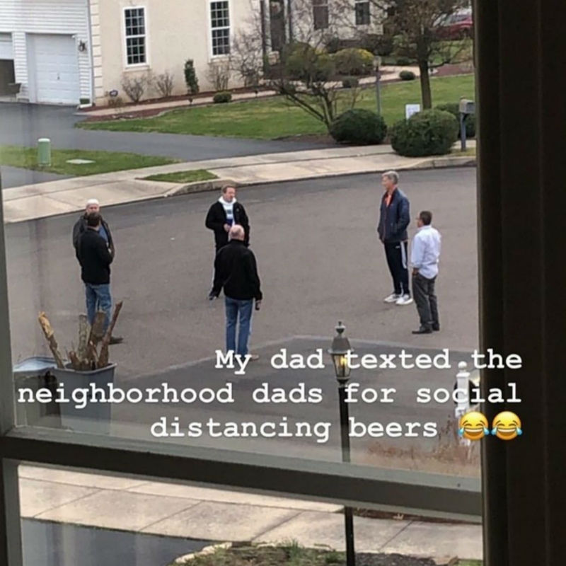 social distancing beers corona virus meme