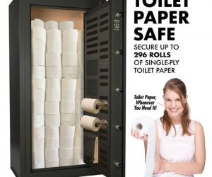 Toilet Paper Safe – coronavirus meme – Toilet paper whenever you need it