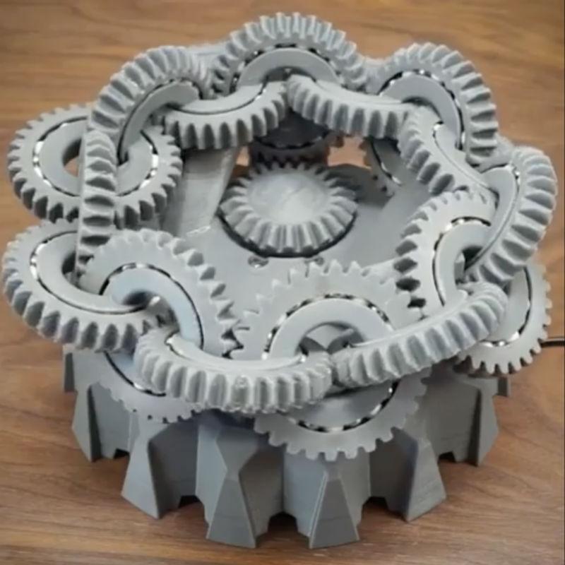3d printed mobius gears