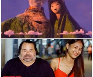 Big Ed and his wife Rose look like the Volcanoes in Lava – meme