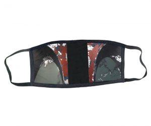 Boba Fett Mandalorian Medical Style Face Mask