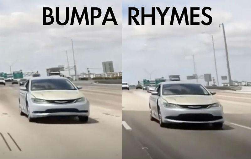 busta rhymes car bumpa