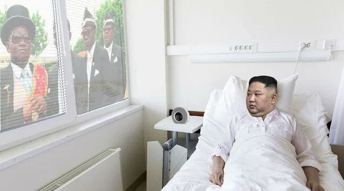 coffin guys kim jong un meme