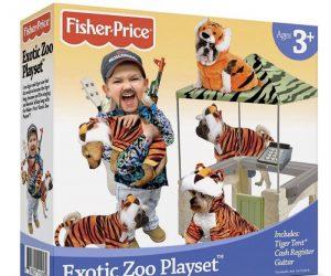 Fisher Price Exotic Zoo Playset – Tiger King Parody Product Meme