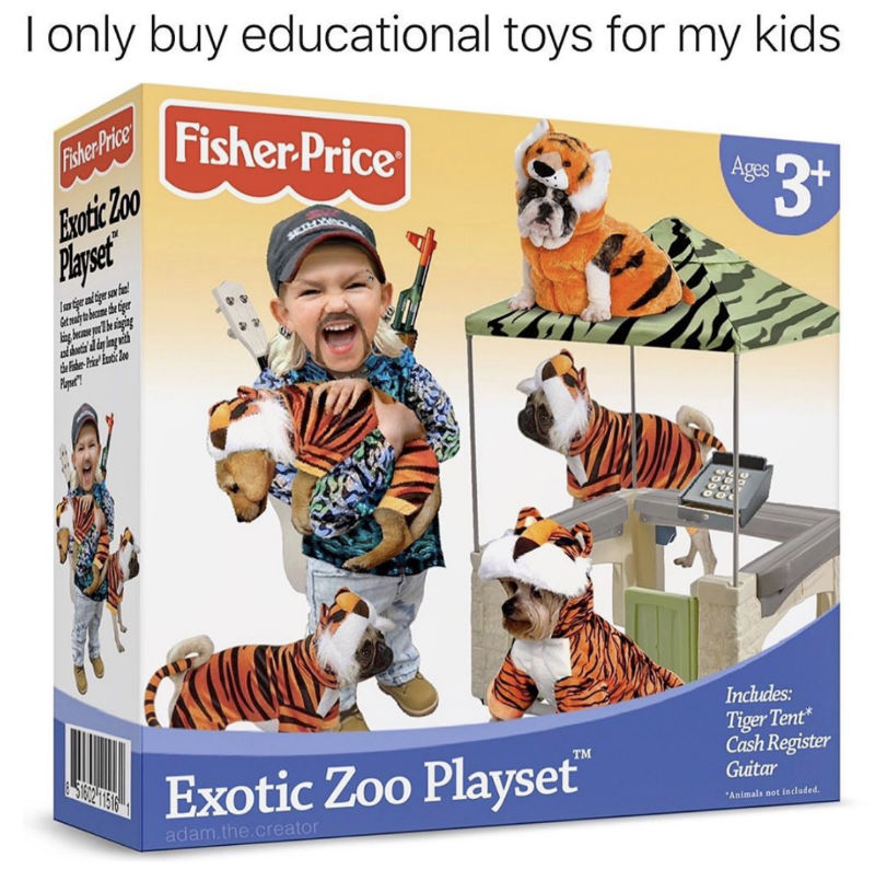 fisher price exotic zoo playset