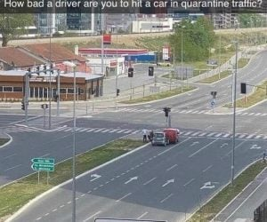 How Bad A Driver Are You To Hit A Car In Quarantine Traffic – Meme