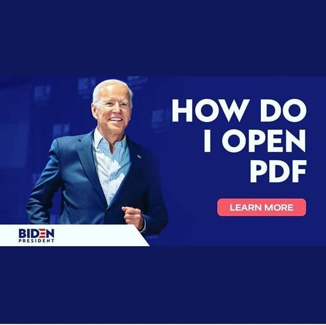 joe biden how do i open pdf meme