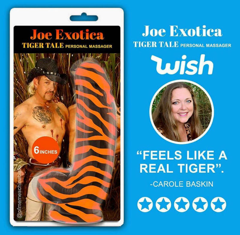joe exotica tiger tail