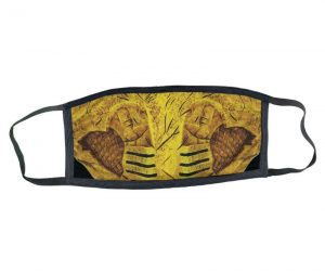 Mortal Kombat Scorpion Face Mask