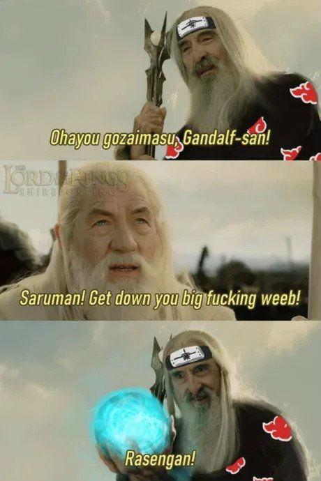 ohayou gozaiumasu gondalf san