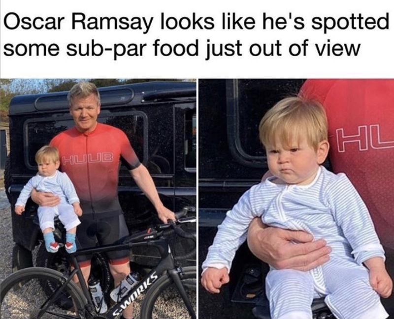 oscar ramsay son meme