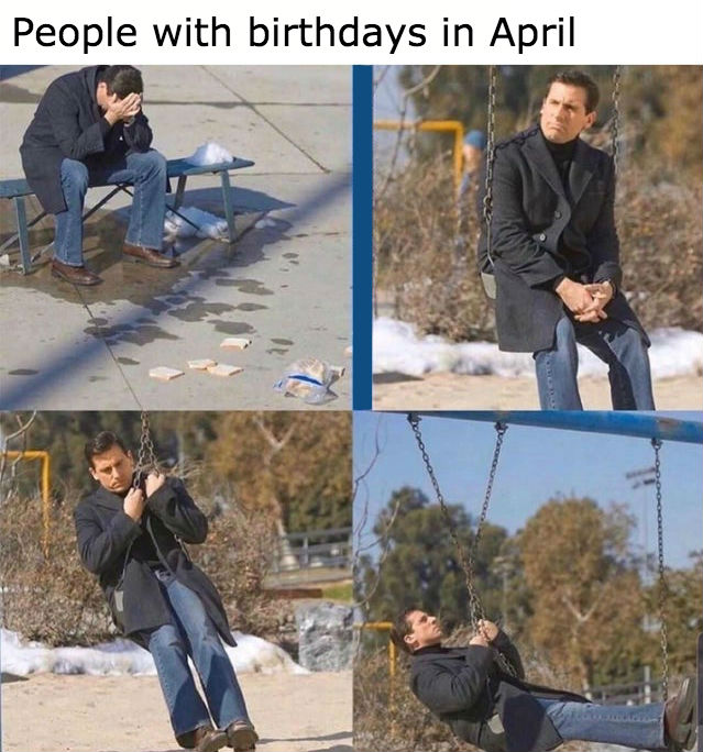 people with birthdays in april