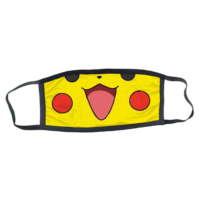 pikachu medical style face mask