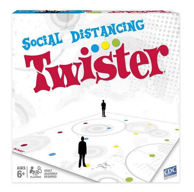 social distancing twister