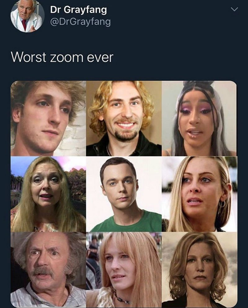 worst zoom ever meme