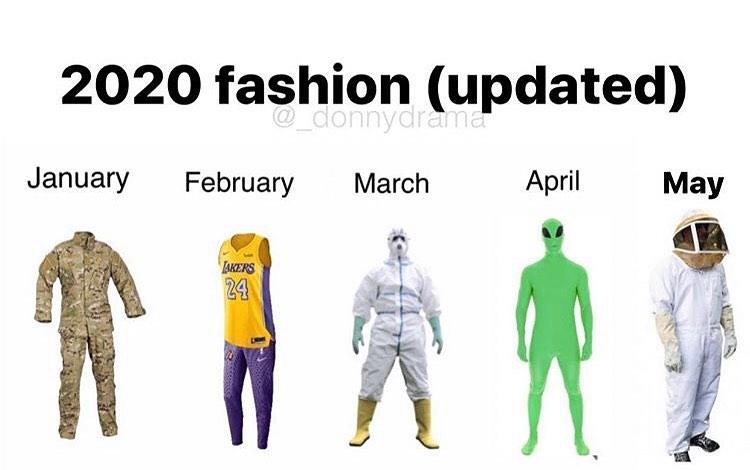 2020 fashion updated murder hornets meme