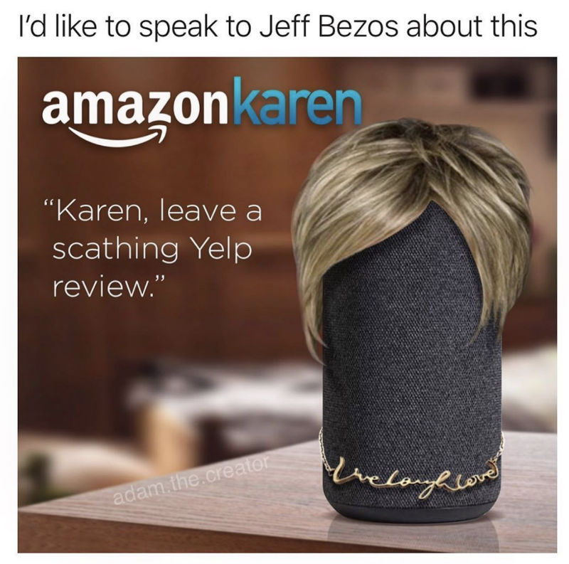 amazon karen meme