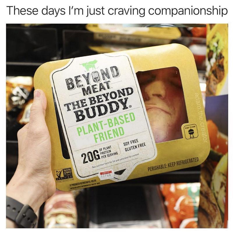 beyond meat friend