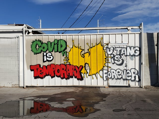 covid is temporary wutang is forever meme