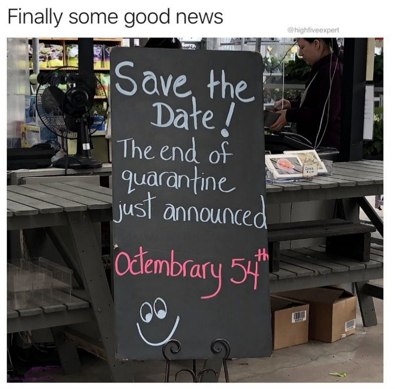 end of quarantine announced