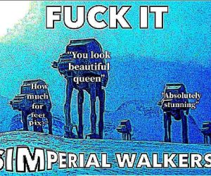 Simperial Walkers – Meme Revenge Of The Simp