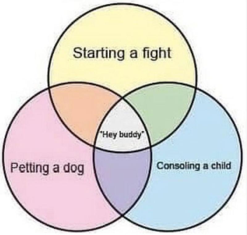 hey buddy circle graph