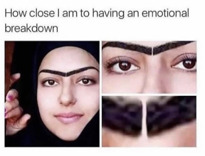 how close i am to having an emotional breakdown meme