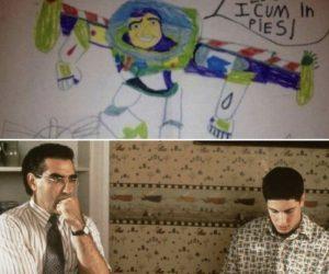 I Am Buzz Lightyear I Cum In Pies – Meme