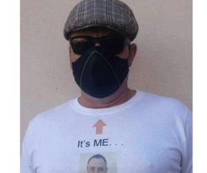 It's Me Steve Shirt – Face Mask Guy Meme