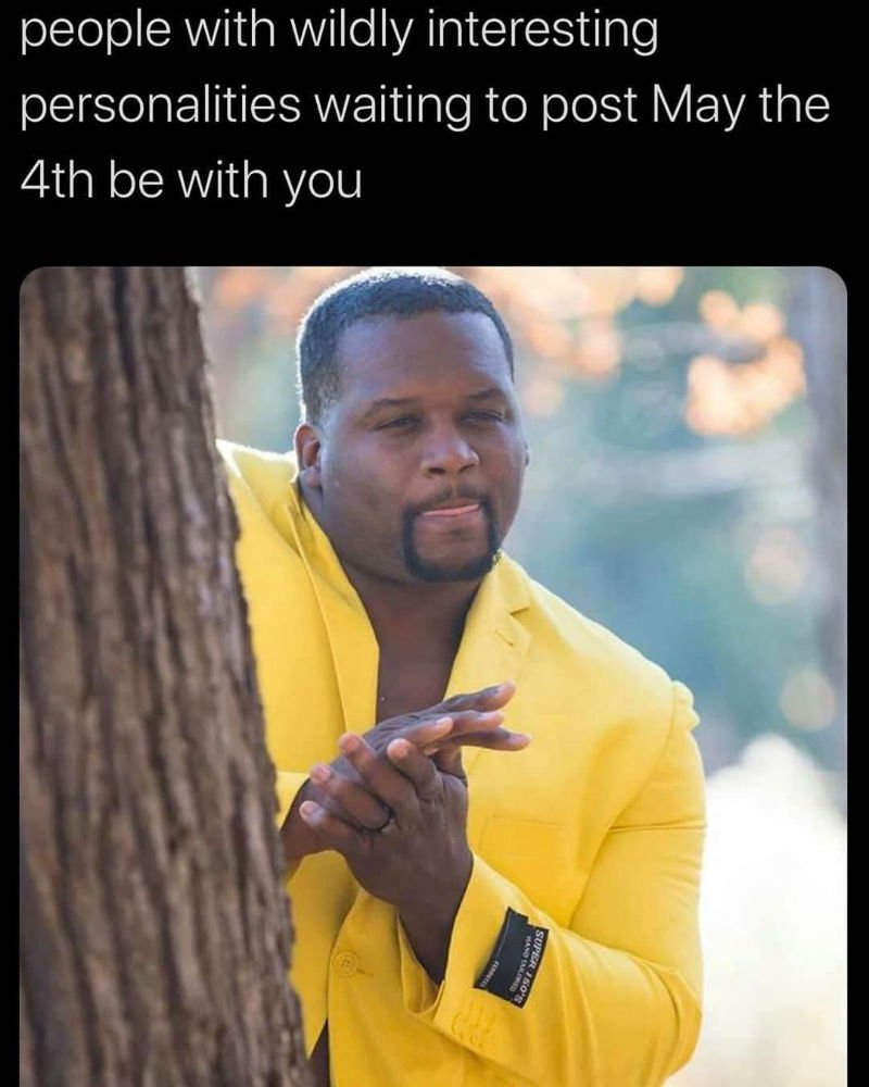 may the 4th be with you meme