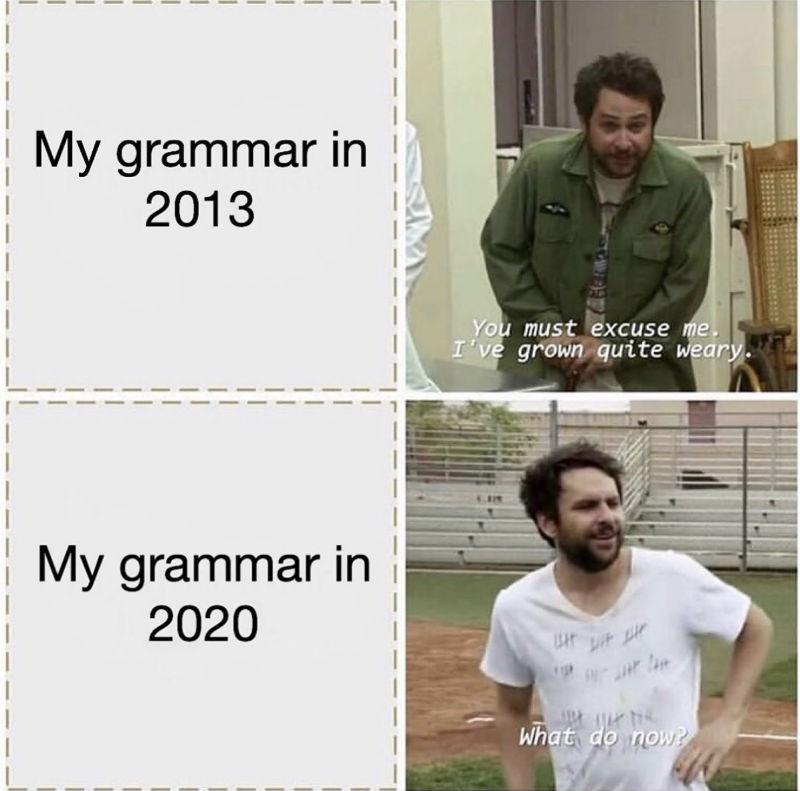 my grammar meme