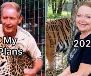 My Plans 2020 Carole Baskin Husband Tiger King Meme