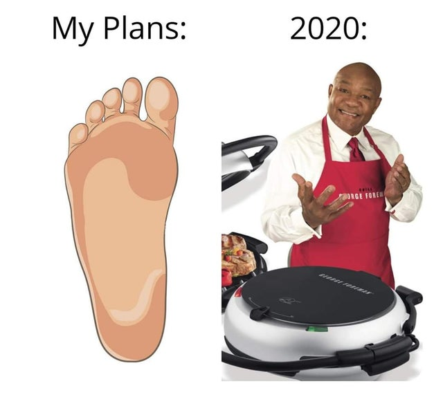 my plans 2020 foot george forman grill